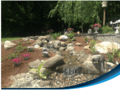 Disappearing Backyard Pondless Waterfall Contractors
